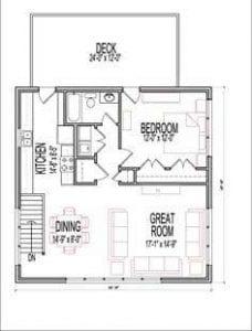 architectural design floor plan 1