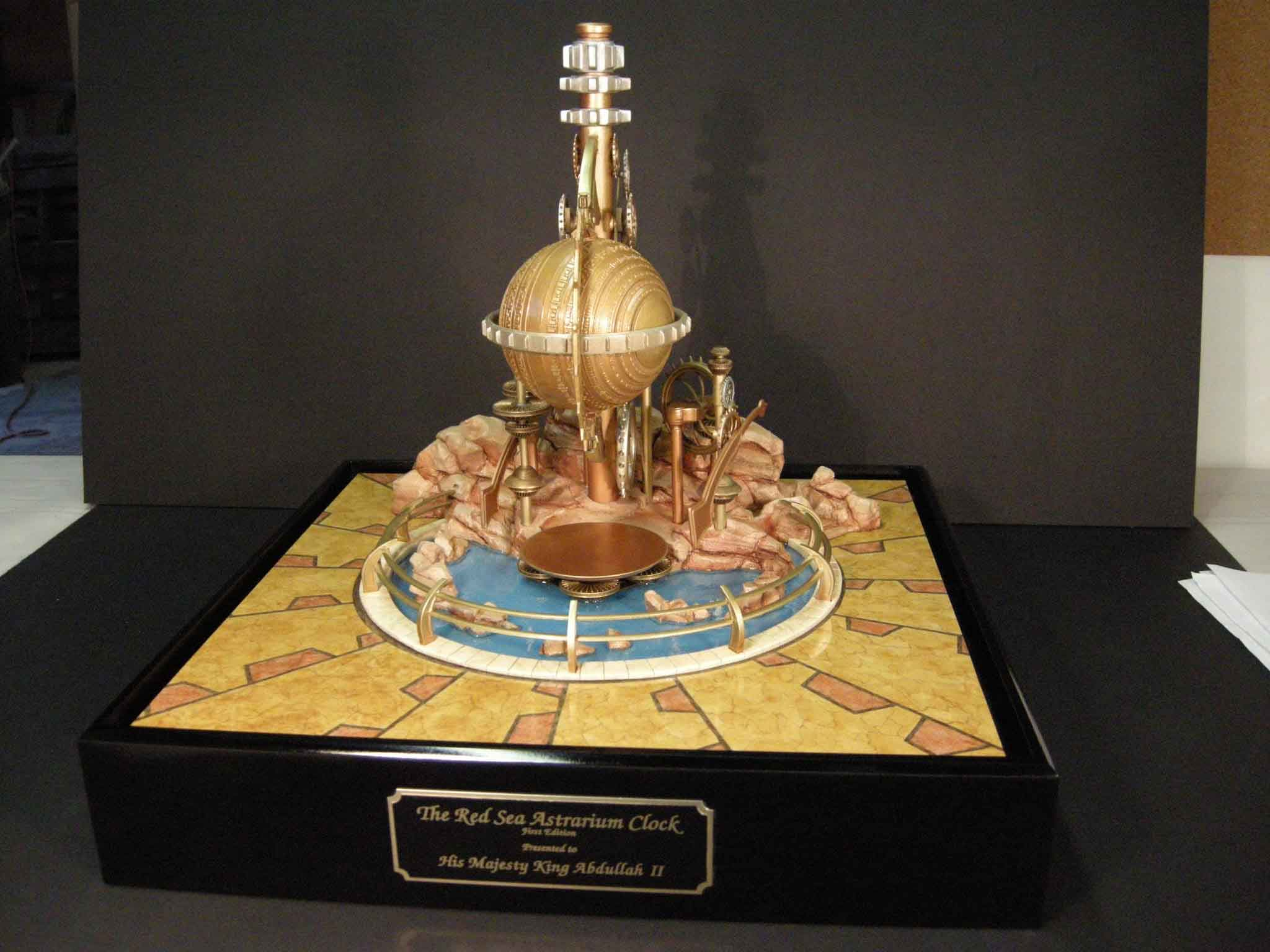 red sea astrarium clock